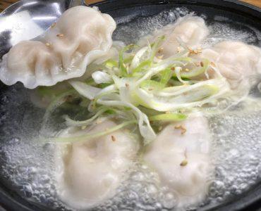 炊き餃子 うまみ塩スープ 647円(税込)<br />